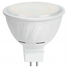 Светодиодная лампа Ecola MR16 LED 8,0W 220V GU5.3 6000K матовое стекло (композит) 51x50