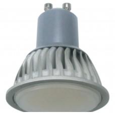 Светодиодная лампа Ecola Reflector GU10 LED 7,0W 220V 6500K (ребристый алюм радиатор) 56x50