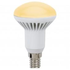 Светодиодная лампа Ecola Reflector R50 LED 7,0W 220V E14 золотистый (ребристый алюм радиатор) 85x50