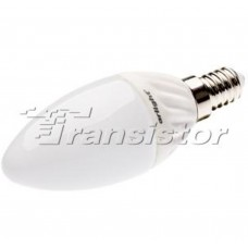 Светодиодная лампа Arlight ECOLAMP E14 3.5W Day White candle-603
