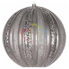 Елочная фигура NEON-NIGHT Арбуз, 25 см, цвет серебряный 502-086