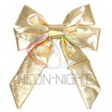 Елочная Фигура NEON-NIGHT Бантик 31 см, цвет золотой 502-501