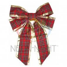 Елочная Фигура NEON-NIGHT Бантик 61 см, цвет красный/золотой 502-522