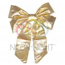 Елочная Фигура NEON-NIGHT Бантик 61 см, цвет золотой 502-521