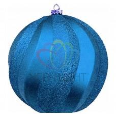 Елочная фигура NEON-NIGHT Шар Вихрь, 20 см, цвет синий 502-063