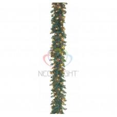 Еловый шлейф искуственный NEON-NIGHT 2,7 м с лампочками IP54 307-111