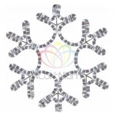 Фигура NEON-NIGHT FM-013 Снежинка белая, размер 45*38 см 501-212