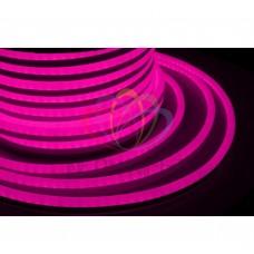 Гибкий неон светодиод NEON-NIGHT розовый, 220В, бухта 50м 131-017