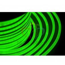 Гибкий неон светодиодный NEON-NIGHT зеленый, оболочка зеленая, 220В, бухта 50м 131-024