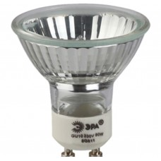 Лампа галогенная GU10-JCDR (MR16) -50W-230V (10/200/4800) ЭРА