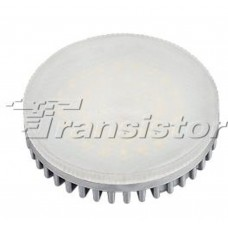 Светодиодная лампа GX53-42E-8W-220V Warm White (ALU/G, Frost)