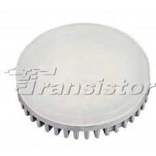 Светодиодная лампа GX53-42E-8W-220V White (ALU/G, Frost)