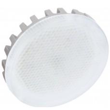 Светодиодная лампа GX53 LED Premium 6W Tablet 220V 4200K 27x75 (матовое стекло) Ecola