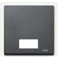 Клавиша x1 с индикацией ip44 , антрацит Schneider Electric