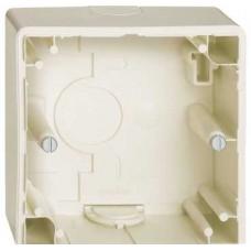 Коробка для наружного монтажа х1, бежевый Schneider Electric