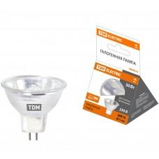 Лампа галогенная с отражателем MR16 (JCDR) - 50 Вт - 230 В - GU5.3 TDM