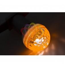 Лампа строб NEON-NIGHT E27, D50mm, оранжевая 411-121