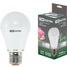Светодиодная лампа А60 - 12 Вт-220 В -4000 К–E27 TDM ELECTRIC