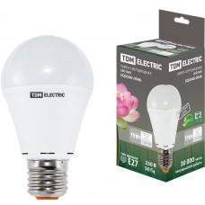 Светодиодная лампа А60 - 15 Вт-220 В -4000 К–E27 TDM ELECTRIC