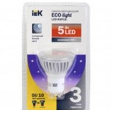 Светодиодная лампа ECO PAR16 софит 5Вт 230В 3000К GU10 IEK