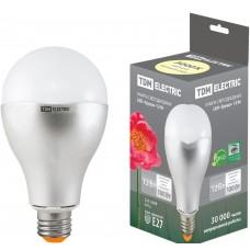 Светодиодная лампа Груша - 12 Вт - 220 В - 3000 К – E27 TDM