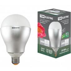 Светодиодная лампа Груша - 24 Вт - 220 В - 4000 К – E27 TDM