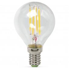 Светодиодная лампа LED-ШАР-PREMIUM 5Вт 230В Е14 3000К 450Лм прозрачная ASD