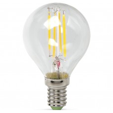 Светодиодная лампа LED-ШАР-PREMIUM 5Вт 230В Е14 4000К 450Лм прозрачная ASD