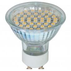 Светодиодная лампа LB-24 44LED(3W) 230V GU10 3300K 44*50mm MR16 светод. Feron