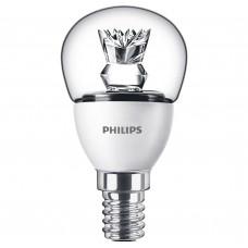 Светодиодная лампа LED 5.5-40W E14 2700K 230V P45 CL ND_AP Philips