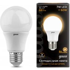 Светодиодная лампа LED A60 E27 7W 2700K 1/40 Gauss