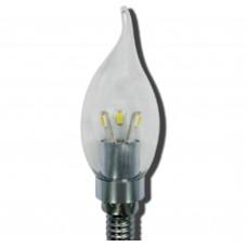 Светодиодная лампа Ecola LED Candle 3,3W 4000K E14