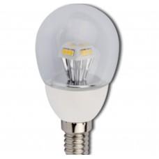 Светодиодная лампа Ecola LED Candle G45 4,2W 220V 2700K E14 90x45