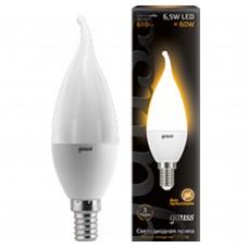 Светодиодная лампа LED Candle tailed E14 6.5W 2700K 1/10/50 Gauss