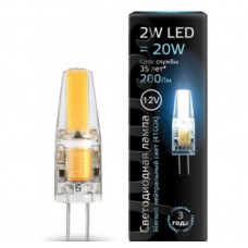 Светодиодная лампа LED G4 12V 2W 4100K 1/20/200 Gauss