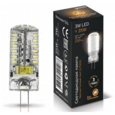 Светодиодная лампа LED G4 12V 3W 2700K 1/20/200 Gauss