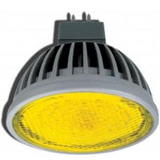 Светодиодная лампа Ecola LED MR16 4,2W 220V GU5.3 Yellow 47x50