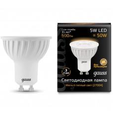 Светодиодная лампа LED MR16 GU10 5W 2700K 1/10/100 Gauss