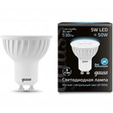 Светодиодная лампа LED MR16 GU10 5W 4100K 1/10/100 Gauss