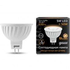 Светодиодная лампа LED MR16 GU5.3 5W 12V 2700K 1/10/100 Gauss