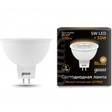 Светодиодная лампа LED MR16 GU5.3 5W 2700K 1/10/100 Gauss
