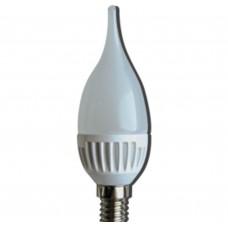 Светодиодная лампа Ecola LED Candle 4,4W 220V 2700K E14 120x36