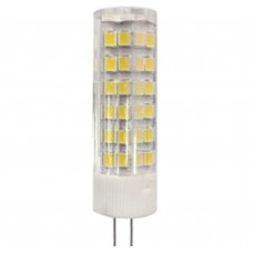 Светодиодная лампа LED smd JC-7w-220V-corn, ceramics-840-G4 ЭРА