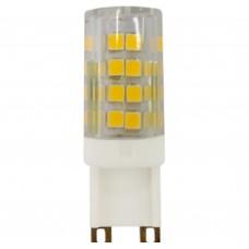 Светодиодная лампа LED smd JCD-5w-220V-corn, ceramics-840-G9 ЭРА
