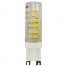 Светодиодная лампа LED smd JCD-7w-220V-corn, ceramics-827-G9 ЭРА