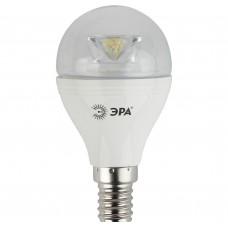 Светодиодная лампа LED smd P45-7w-827-E14-Clear (6/60/2400) ЭРА
