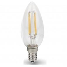 Светодиодная лампа LED-СВЕЧА-PREMIUM 7Вт 230В Е14 3000К 630Лм прозрачная ASD