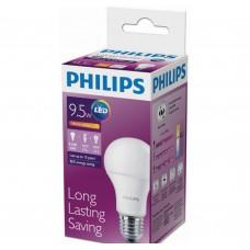 Светодиодная лампа LEDBulb 9.5-70W E27 3000K 230V A60 /PF Philips