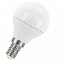 Светодиодная лампа LS CLP 40 5,4W/830 220-240V FR E14 3000 K 470Lm Osram, шарик матовый 78х45мм