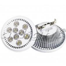 Светодиодная лампа Arlight MDSV-AR111-9x1W 35deg 12V Warm White G53